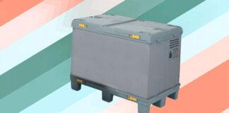 Cechy szczególne wzmocnionych, plastikowych skrzyniopalet składanych